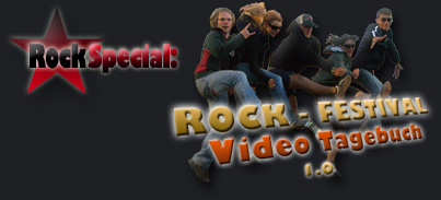 Star-Paparazzi's ROCK-Festival Video-Tagebuch
